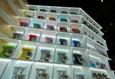 KitchenAid 香港旗艦店Stand Mixer Wall