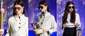 全系列共3種流行色系,將不同具城市代表性的產物融入眼鏡設計中c